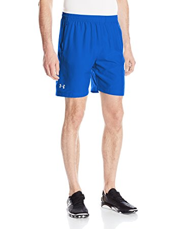 Under Armour Mens Launch Run Woven 7 inch Run Shorts - S - Ultra Blue
