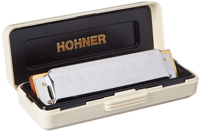 Hohner Marine Band Harmonica Key of Bb
