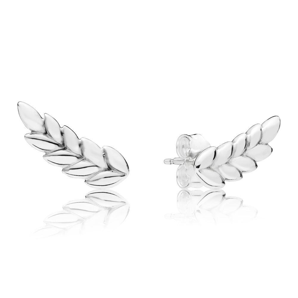 PANDORA Curved Grains Earrings - 297730