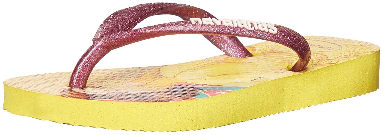 Havaianas Kids Slim Princess Sandal Flip Flops - Toddler/Little Kid - Light Yellow - 33-34 BR