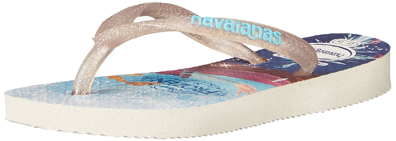 Havaianas Kids Slim Princess Sandal Flip Flops - Toddler/Little Kid - White - 33-34 BR