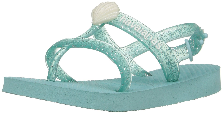 Havaianas Girls Joy Gladiator Sandal - Ice Blue - 31/32 BR - 4135036-642-2Y