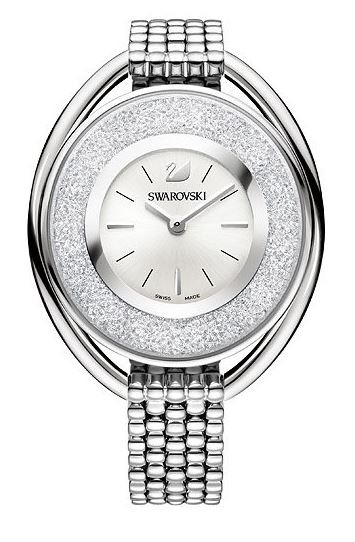 Swarovski Crystalline Oval White Bracelet Ladies Watch 5181008