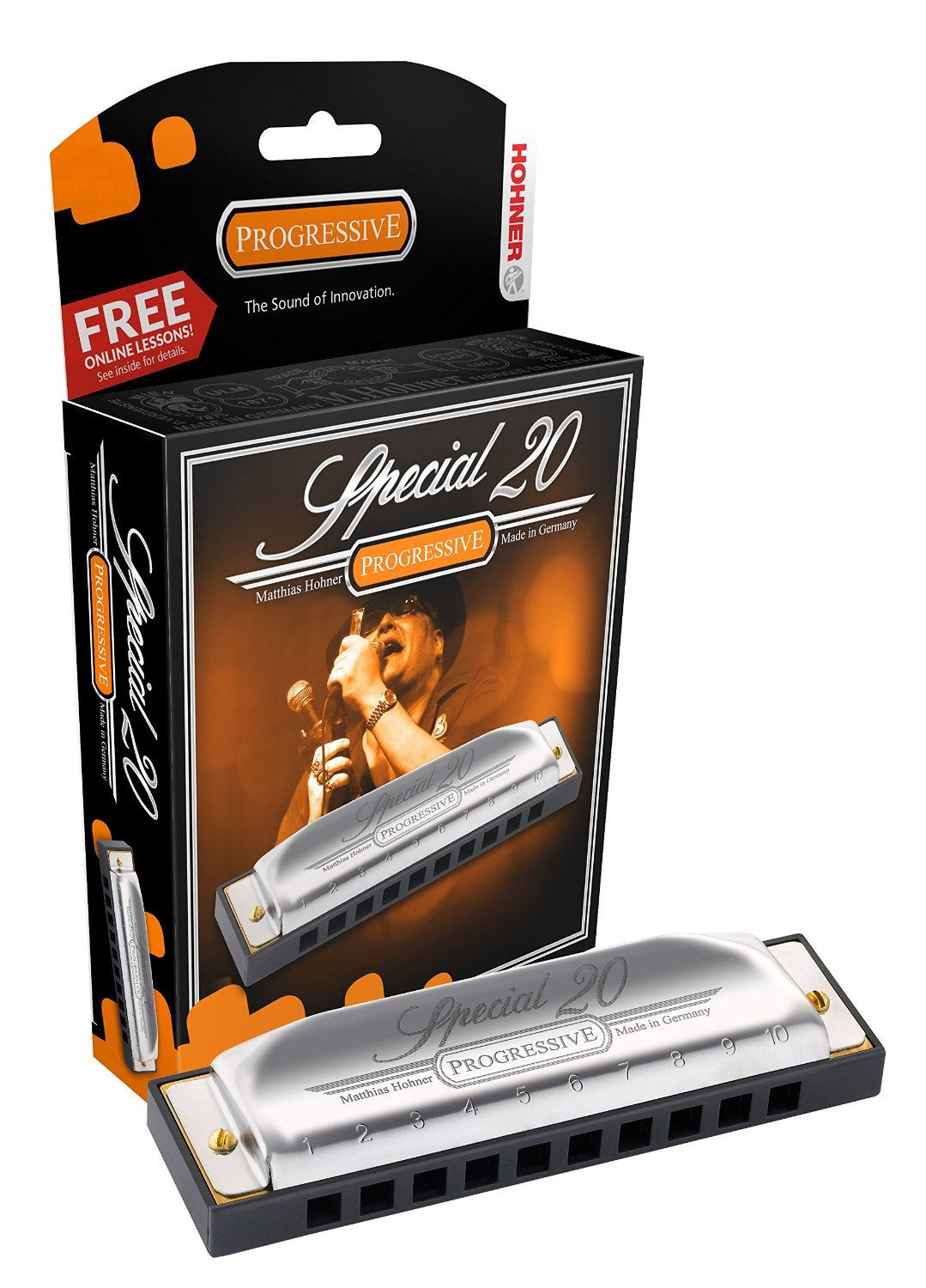 Hohner Special 20 Harmonica Key Of D