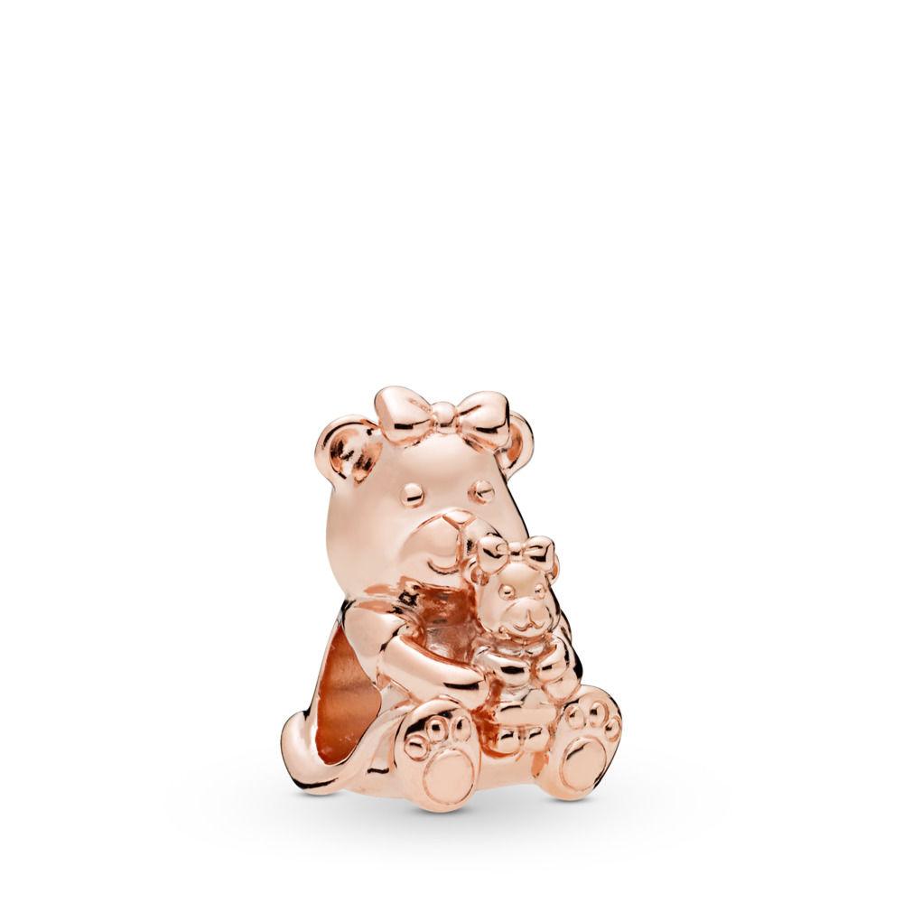 PANDORA Dora Bear PANDORA Rose Charm - 788007