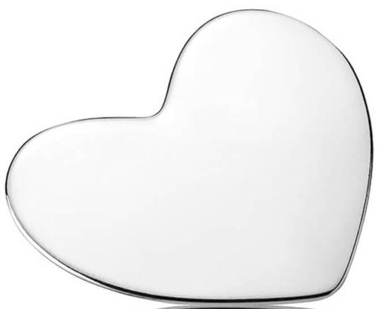 PANDORA Heart Locket Plate - Medium - 792120