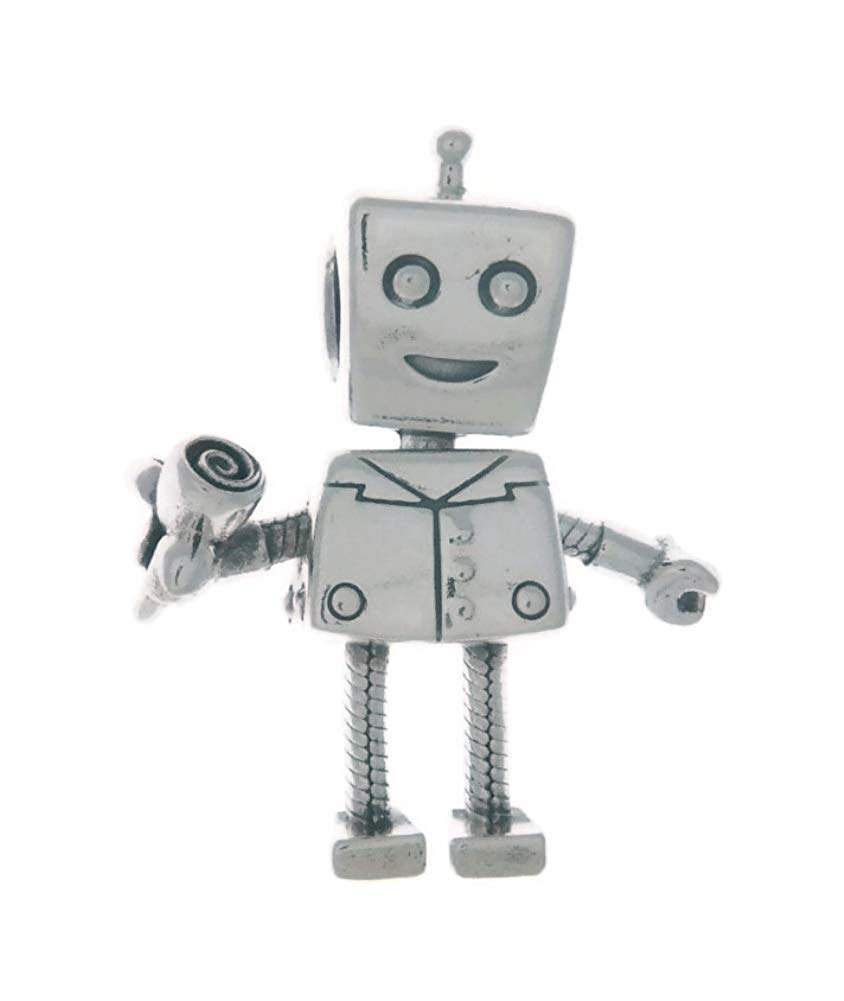 PANDORA Rob Bot Dangle Charm 925 Sterling Silver - 797819