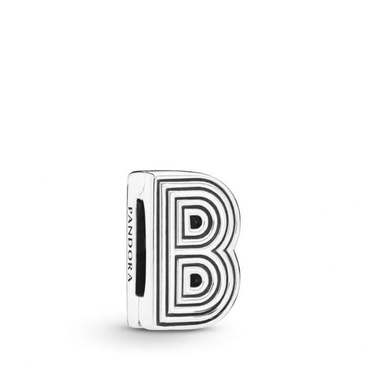 Pandora Reflexions Letter B Clip Charm - 798198