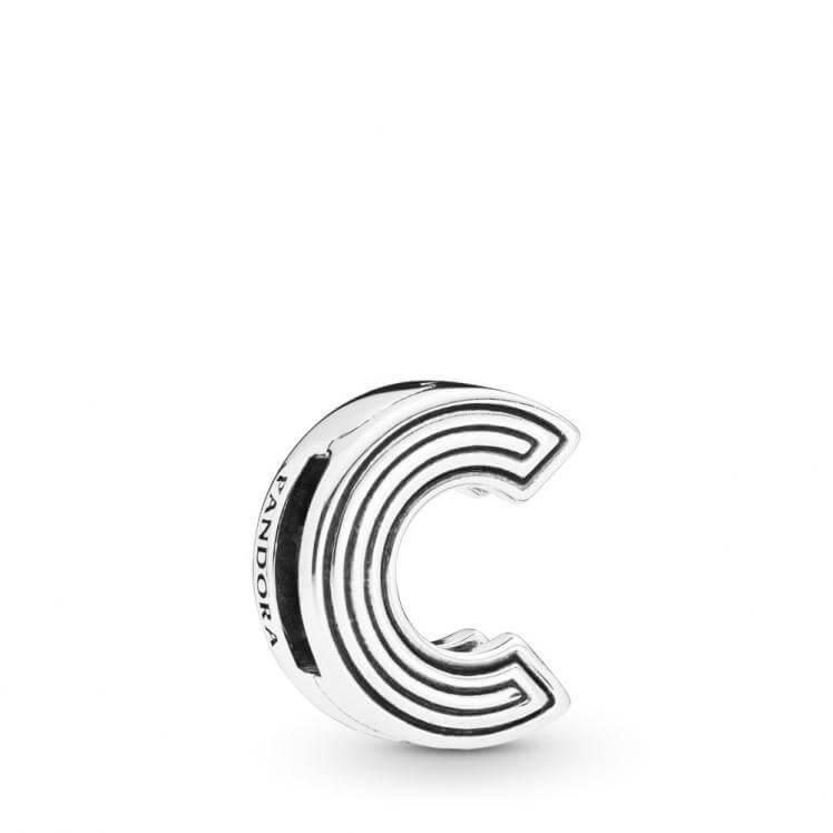 Pandora Reflexions Letter C Clip Charm - 798199