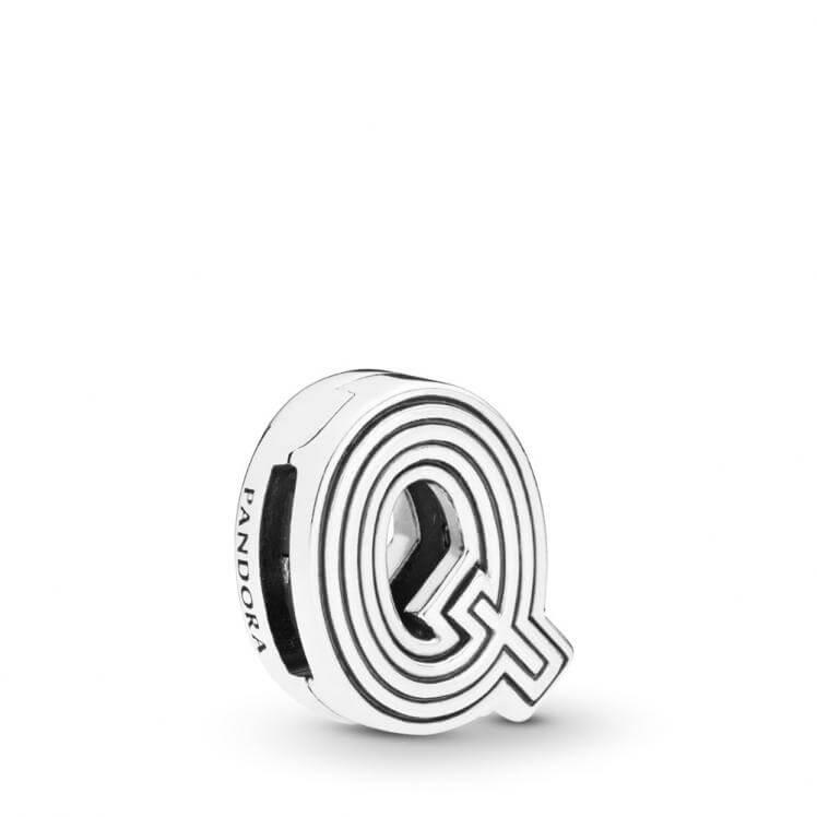 Pandora Reflexions Letter Q Clip Charm - 798213