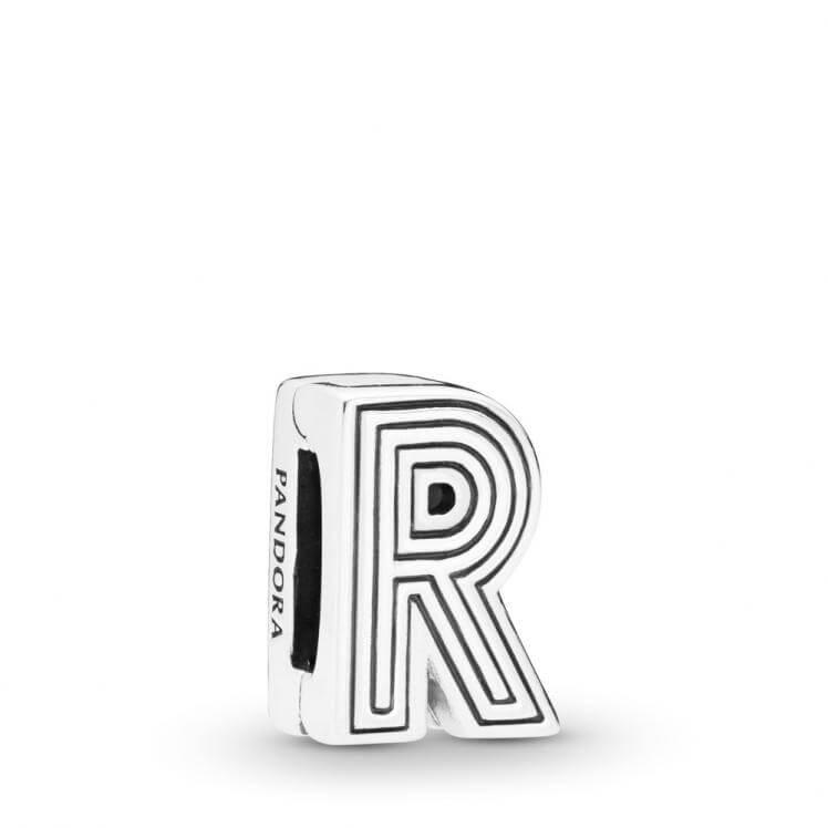 Pandora Reflexions Letter R Clip Charm - 798214