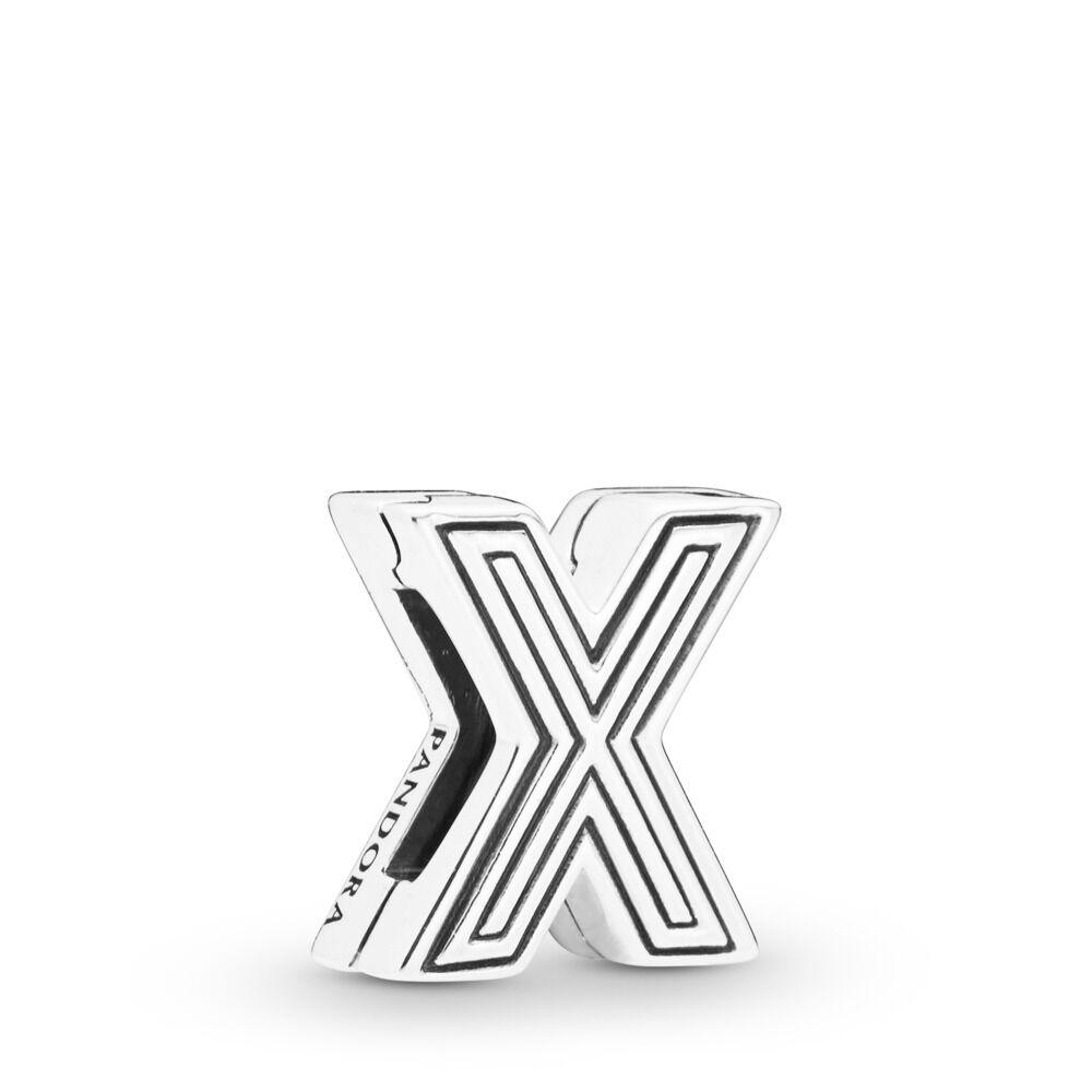 Pandora Reflexions Letter X Clip Charm - 798220
