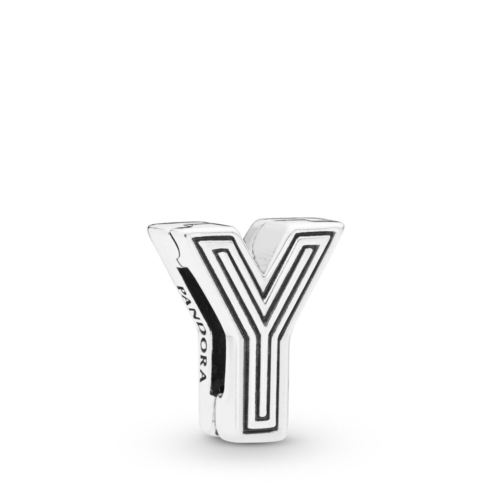 Pandora Reflexions Letter Y Clip Charm - 798221