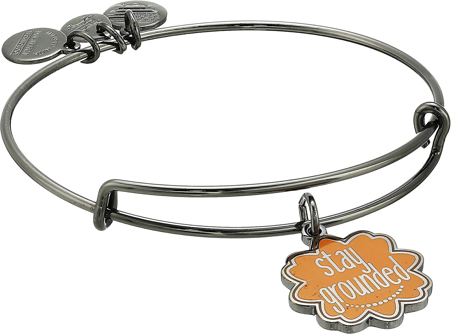Alex and Ani Words are Powerful Stay Grounded Bangle - A18EBWAP03RTH
