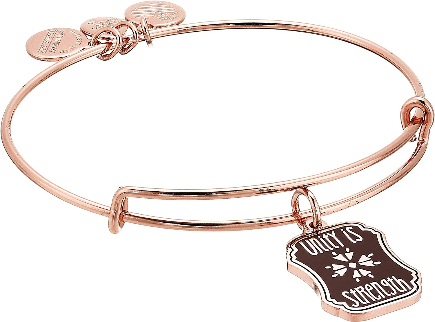 Alex and Ani Words are Powerful Unity is Strength Bangle - A18EBWAP05SR