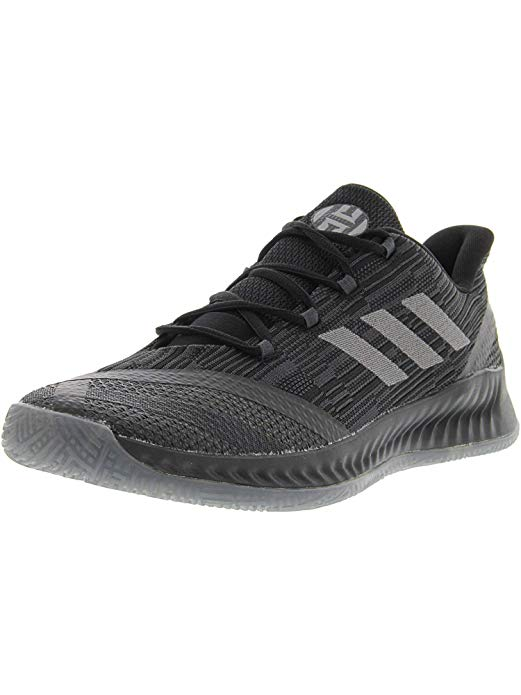 adidas Harden B/E X Shoes - Mens Basketball Sneakers 10.5 Black/Dark Grey