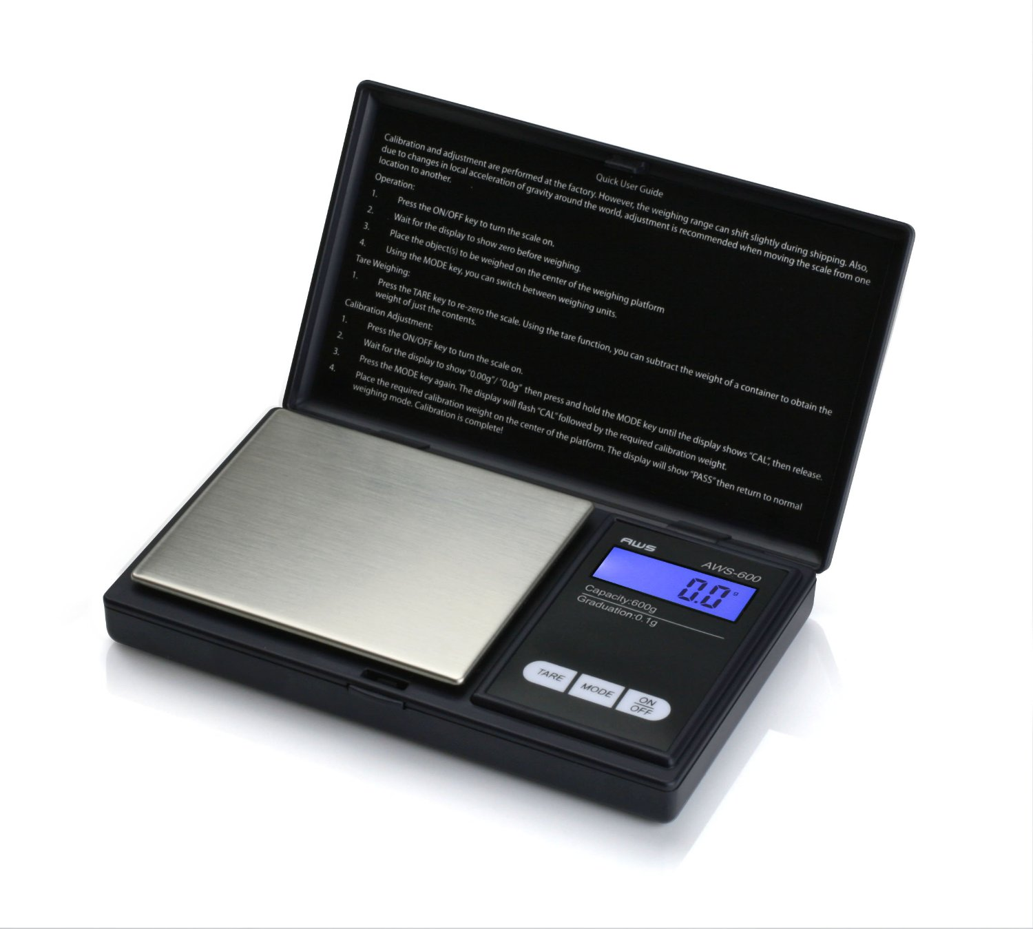 American Weigh Scales Digital Personal Nutrition Scale