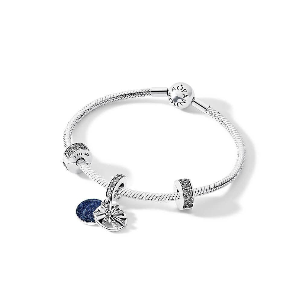 PANDORA Dazzling Wishes Bracelet Gift Set