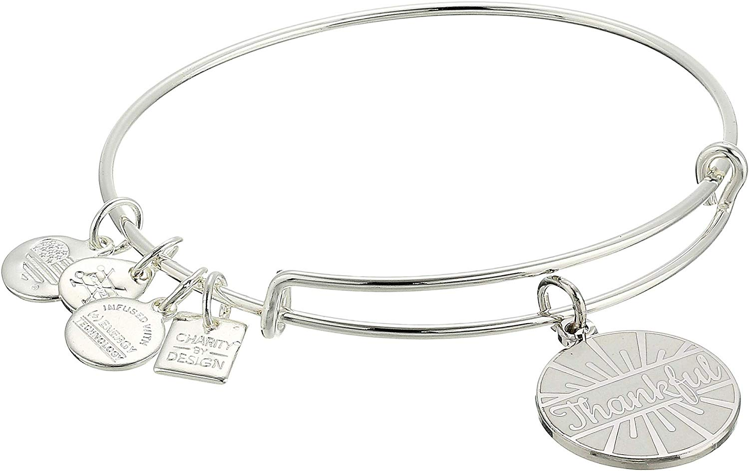 Alex and Ani Charity Design Today Is A Gift Bangle - CBD18TD01SS