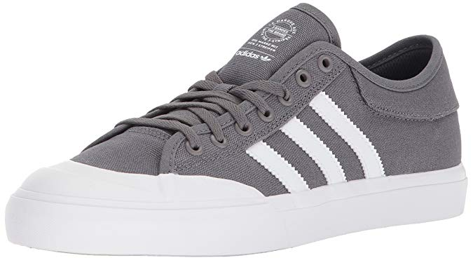 adidas Originals Unisex Matchcourt Running Shoes - Grey Four/White/Gum - 9.5 M