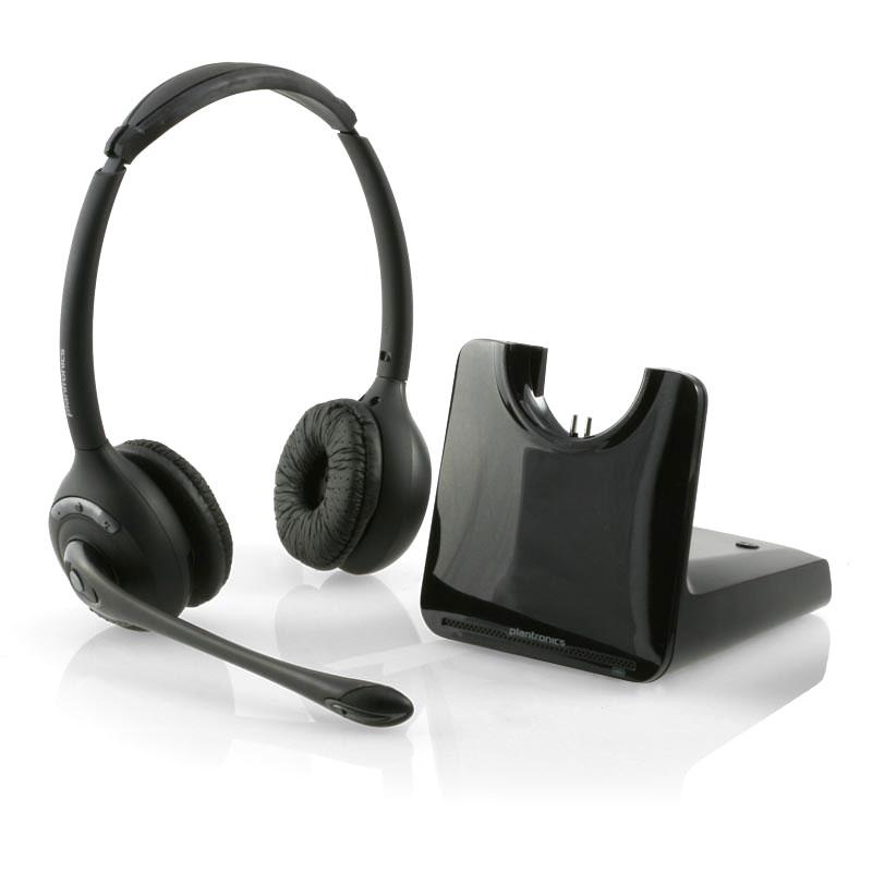 Plantronics Binaural Wireless Headset System - CS520