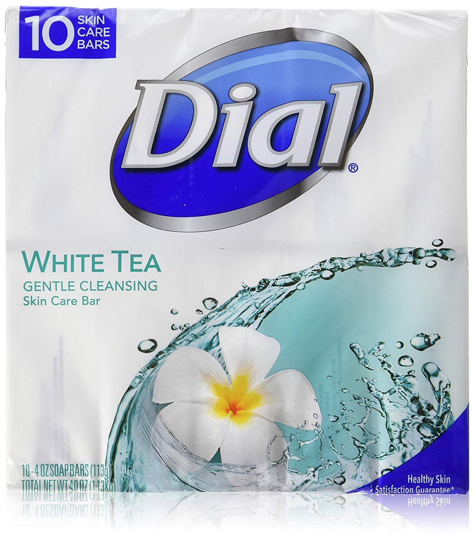 Dial White Tea 10 Glycerin Bars
