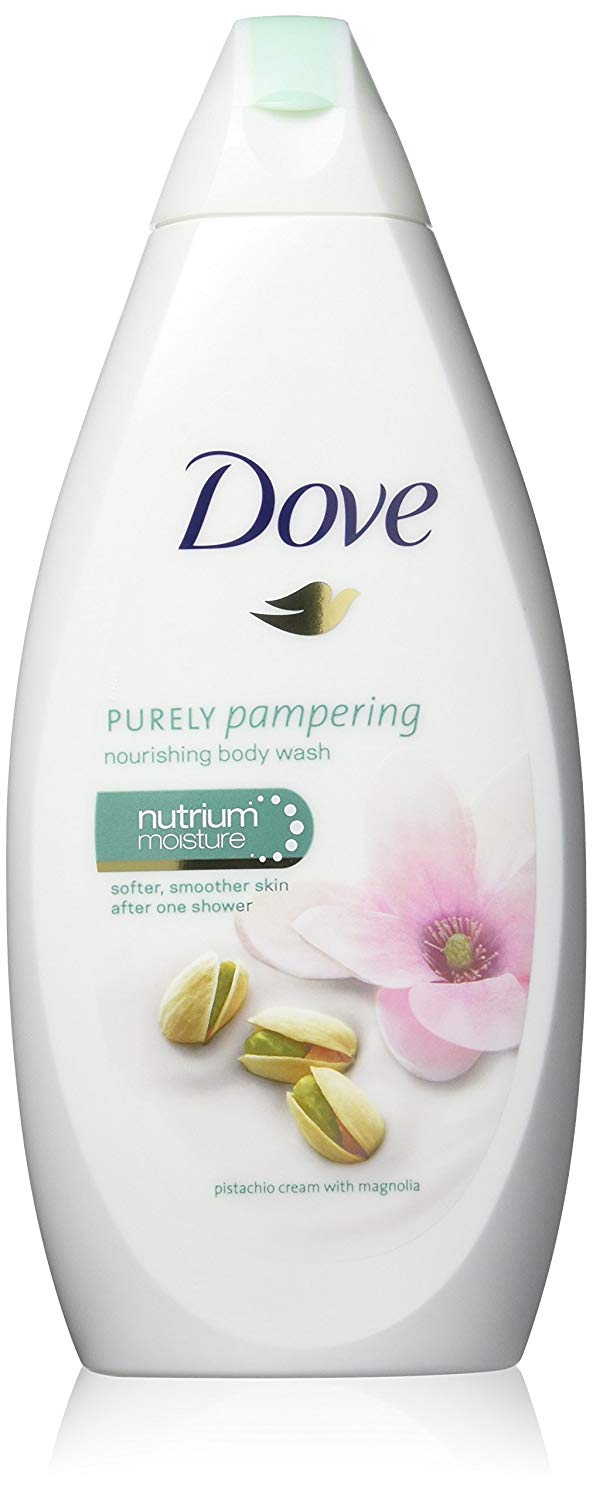 Dove Purely Pampering Body Wash - Pistachio Cream with Magnolia - 16.9 Ounce / 500 Ml (Pack of 3)