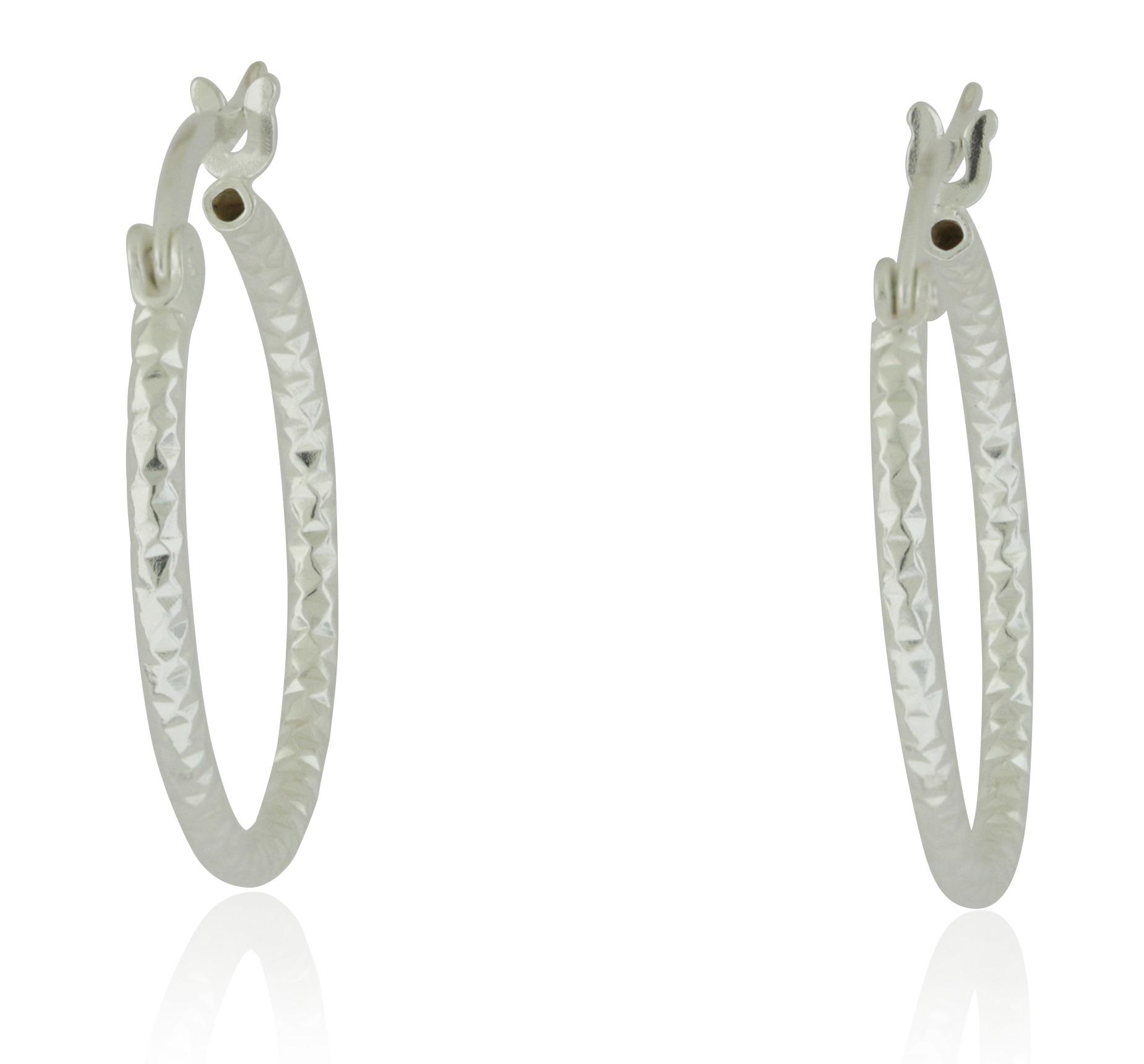 DC Hoop Earrings - JE1805