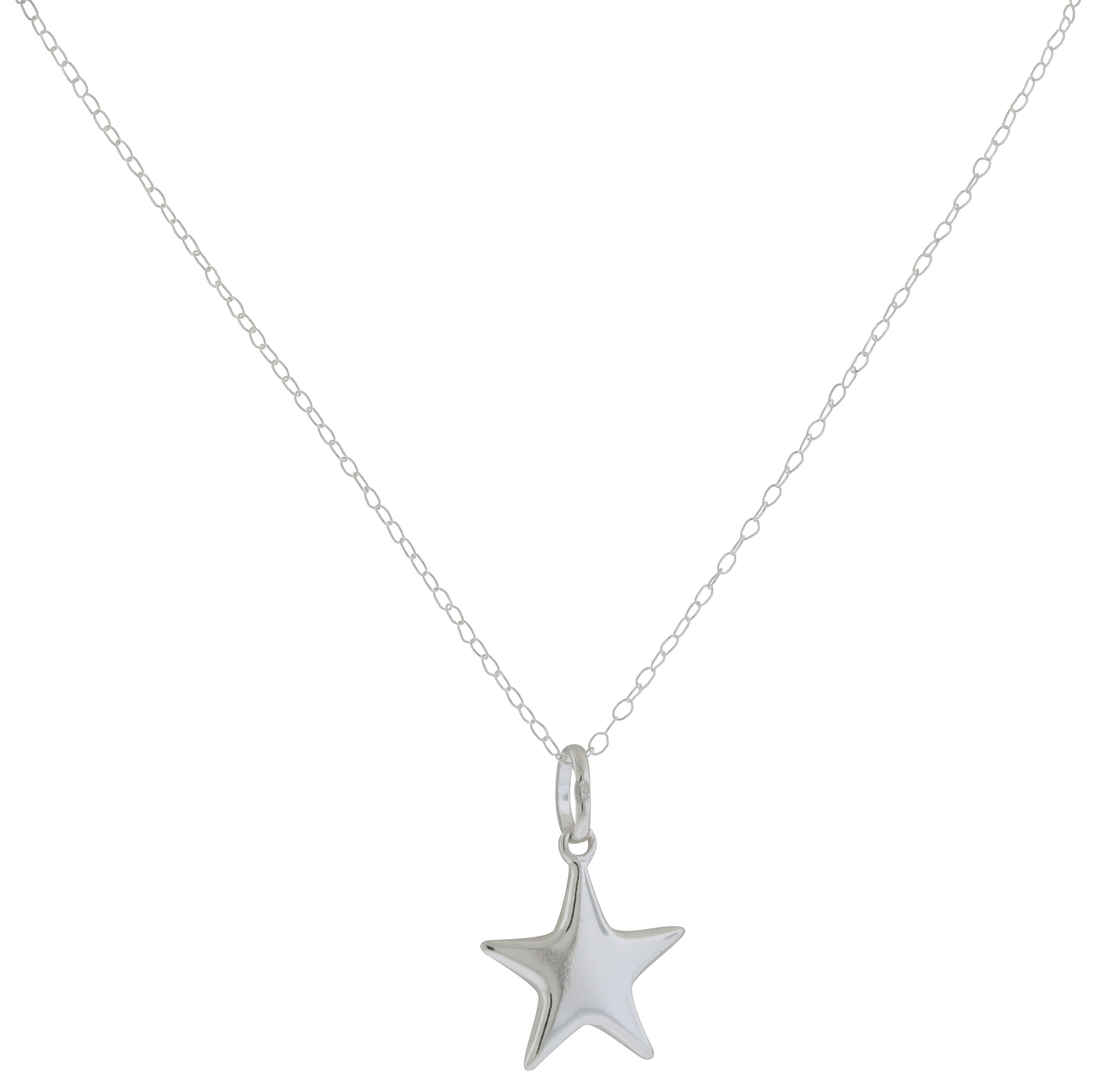 Sterling Silver Pendant with Chain - JP1804