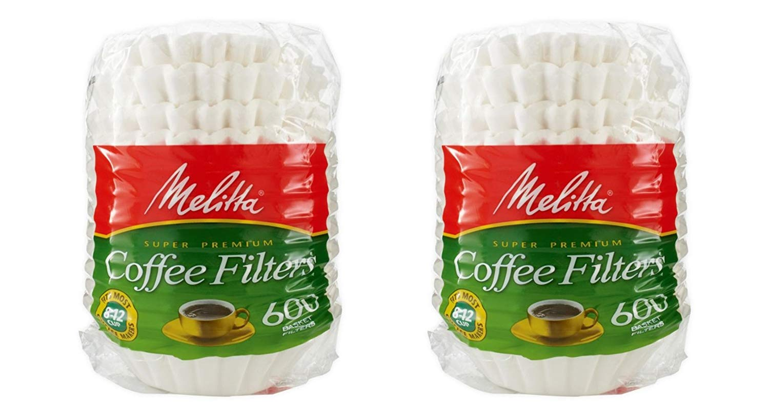Melitta Coffee Filters - Basket - Pack Of 1200