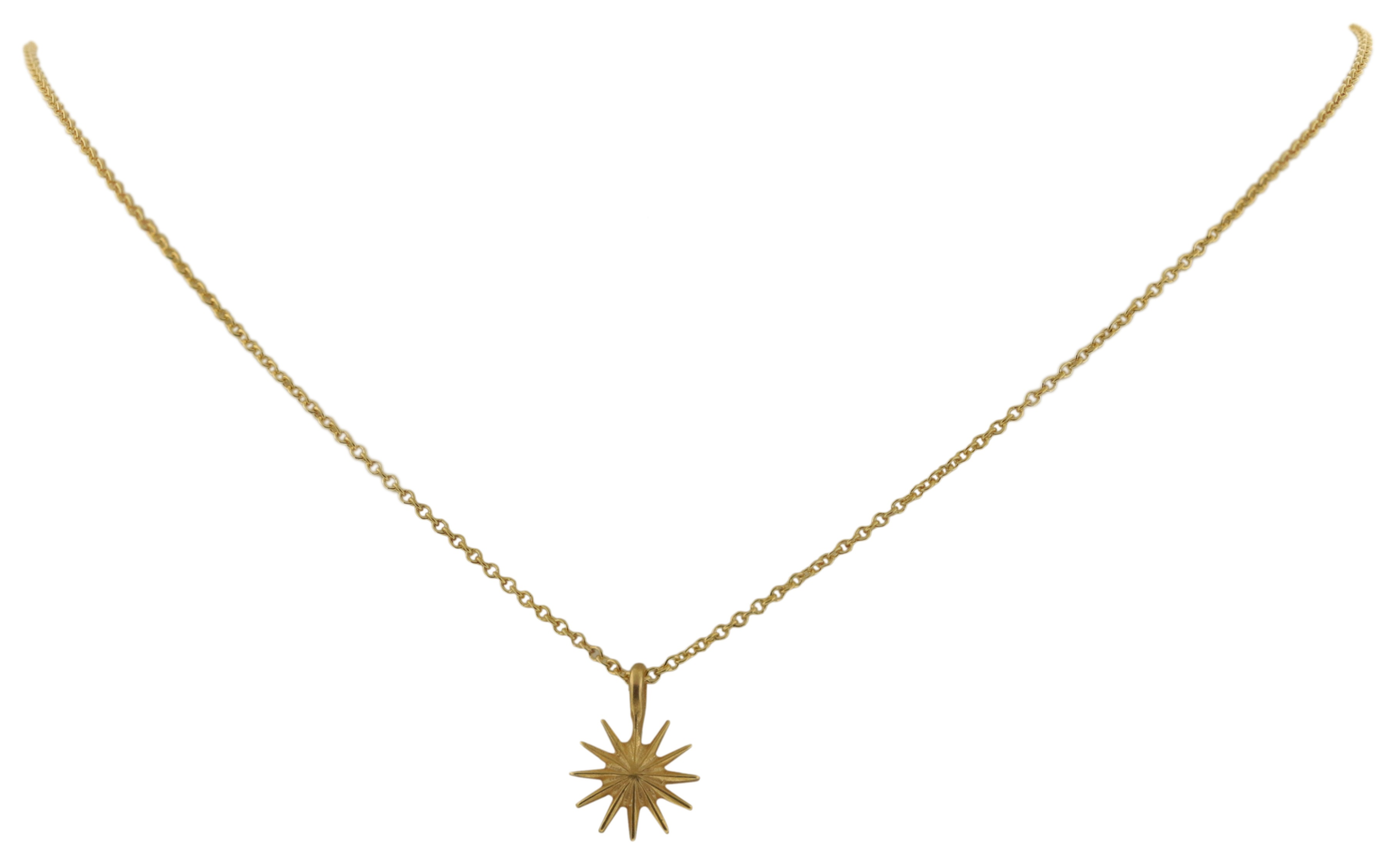 Dogeared Congratulations Gold Dipped Starburst Reminder Boxed Necklace - MG1111