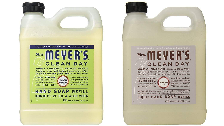 Mrs. Meyers Liquid Hand Soap Lavender & Lemon Verbena - 33 Oz Refill