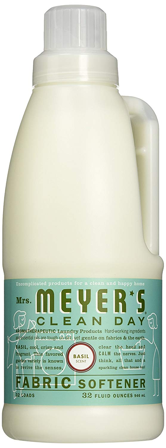 Mrs. Meyers Fabric Softener - Scent (Basil - Pack - 2)