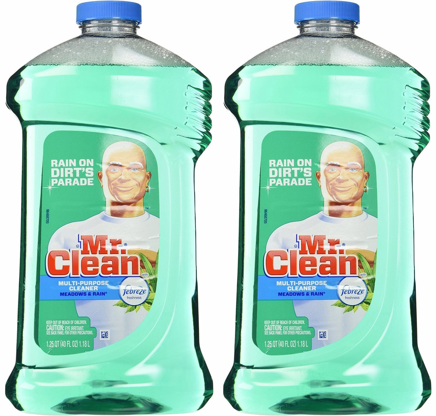 Mr. Clean with Febreze Freshness Meadows & Rain Multi-Surface Cleaner 40 oz - 2 Pack