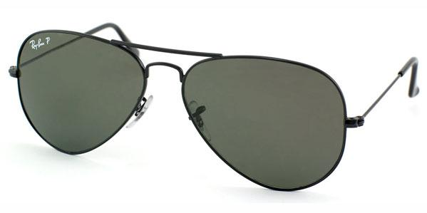 Ray-Ban Aviator Large Polarized Unisex Sunglasses RB3025-002/58-58