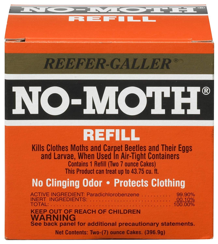 Reefer-Galler NO Moth Closet Hanger Refill (6 Pack)