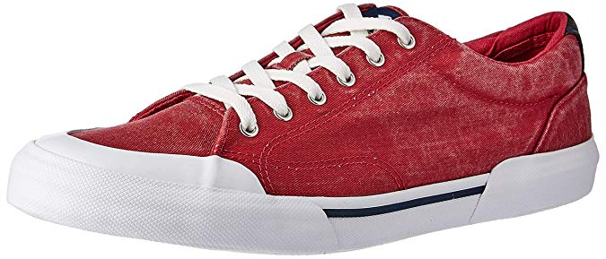 Sperry Mens Striper II Retro Sneaker Brick RED 10.5 M