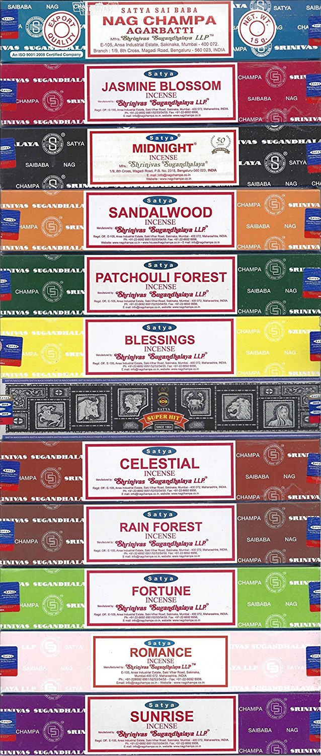 Satya Incense Scents: Nag Champa - 15 Grams